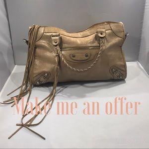 Tan (Praline) Balenciaga City Bag 2011 Collection